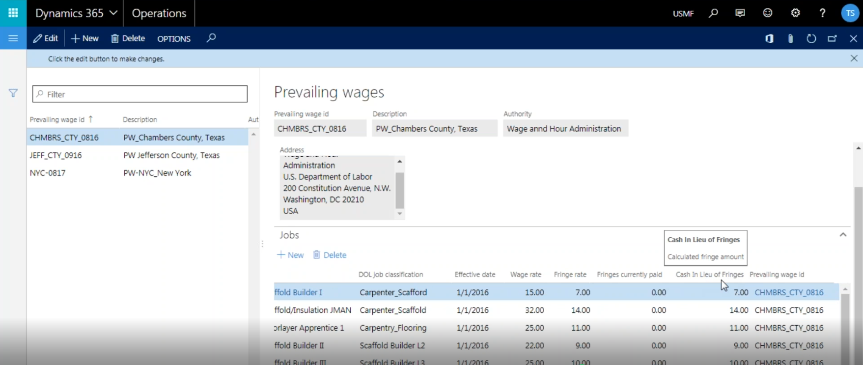 Construct365 Union Certified Payroll For Microsoft Dynamics 365